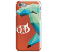 HOLA. iPhone Case/Skin