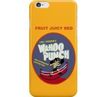 Wahoo Punch 2 iPhone Case/Skin