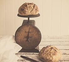 Fresh Baked Bread by KJ DeWaal