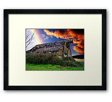 Rainbow Over Ruins - Orton Series Framed Print