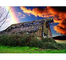 Rainbow Over Ruins - Orton Series Photographic Print