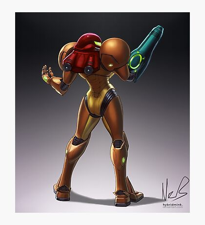 Samus Photographic Print