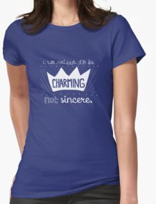 Prince Charming Into The Woods Womens Fitted T-Shirt