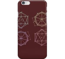 polyhedron 1 iPhone Case/Skin