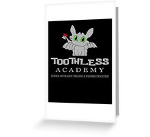 Toothless Academy Greeting Card