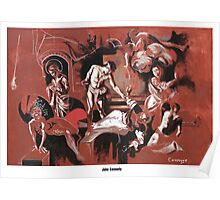 Homage to Caravaggio, poster Poster