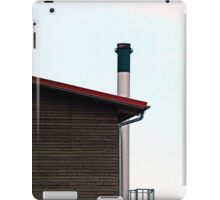 Some boring building with a chimney | architectural photography iPad Case/Skin