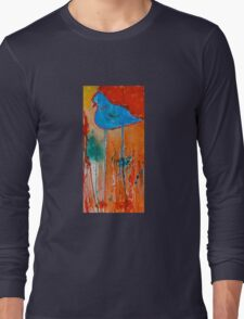 Blue Bird Long Sleeve T-Shirt