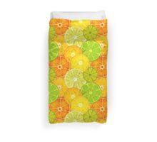 Citrus Fruit Splash Duvet Cover Duvet Cover