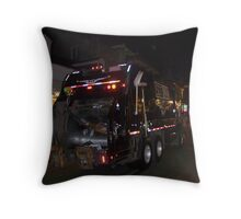 Garbage Men Night Crew Throw Pillow
