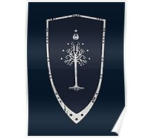 Lord Of The Rings - Gondor Shield Poster