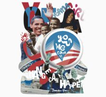 "OBAMA ""change can happen"" by djoukaze"