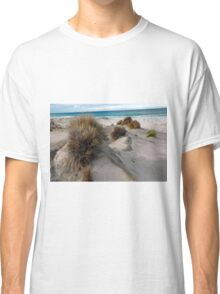 White sandy beach. Classic T-Shirt