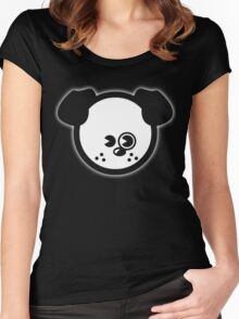 PUPPY [rspca donation] Women's Fitted Scoop T-Shirt