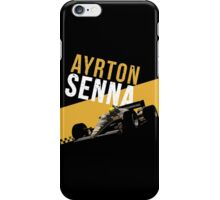 Ayrton Senna 1986 Lotus 98T iPhone Case/Skin