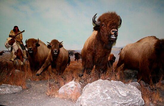 The Buffalo Hunt ... by Larry Trupp