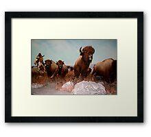 The Buffalo Hunt ... Framed Print