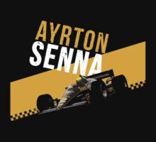 Ayrton Senna 1986 Lotus 98T by ApexFibers
