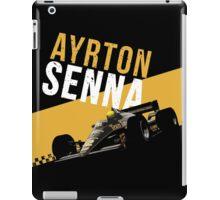 Ayrton Senna 1986 Lotus 98T iPad Case/Skin