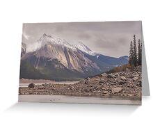Canadian Rockies, Jasper Canada Greeting Card