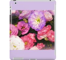 Lisianthus as beautiful  as any Flower iPad Case/Skin