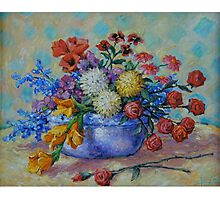 Flowers #2 Photographic Print