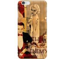 The Public Enemy and Jean Harlow iPhone Case/Skin