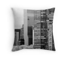 Manhattan View from Roosevelt Island Throw Pillow