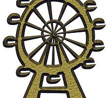 Ferris Wheel - London Eye by siloto