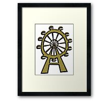 Ferris Wheel - London Eye Framed Print