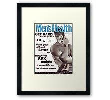 M Blackwell - Men's Health... Framed Print