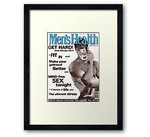 M Blackwell - Men's Health... Framed Print