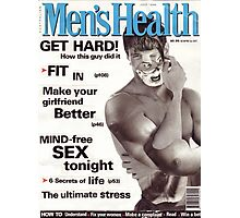 M Blackwell - Men's Health... Photographic Print