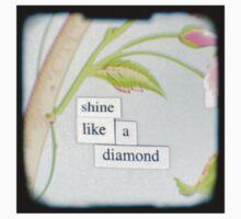 Shine like a diamond Baby Tee