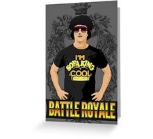 Battle Royale! Greeting Card