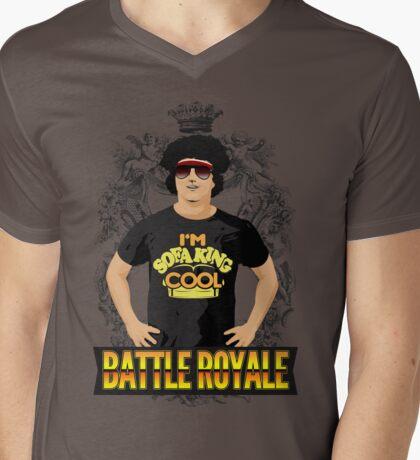 Battle Royale! Mens V-Neck T-Shirt