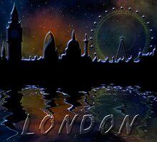 London skyline by siloto