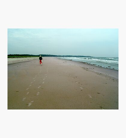Sand Tracks Photographic Print
