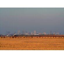 A Prairie City Photographic Print