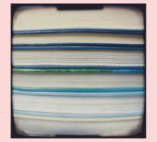 Blue book stripes One Piece - Short Sleeve
