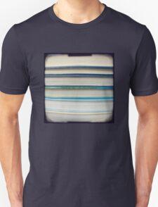 Blue book stripes Unisex T-Shirt