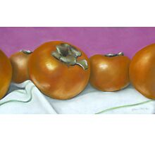 persimmons no.2 Photographic Print
