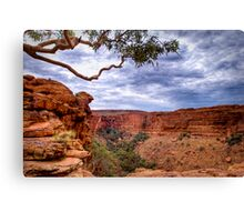 Dramatic Skies over Kings Canyon, 22 September 2008 Canvas Print
