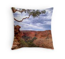 Dramatic Skies over Kings Canyon, 22 September 2008 Throw Pillow