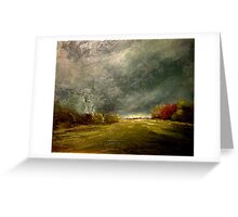 Pennington Airfield Before The Storm Greeting Card