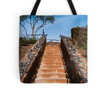 Ornate stairway at Viansa Winery, California Tote Bag