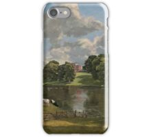 John Constable - Wivenhoe Park, Essex iPhone Case/Skin