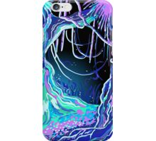 Magic Tale Blacklight Forest Background iPhone Case/Skin