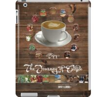 The Journey of Coffee [Wood] iPad Case/Skin
