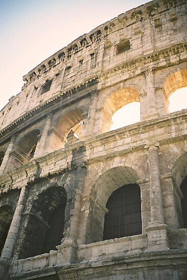 Roman Coliseum, Rome by Elana Bailey